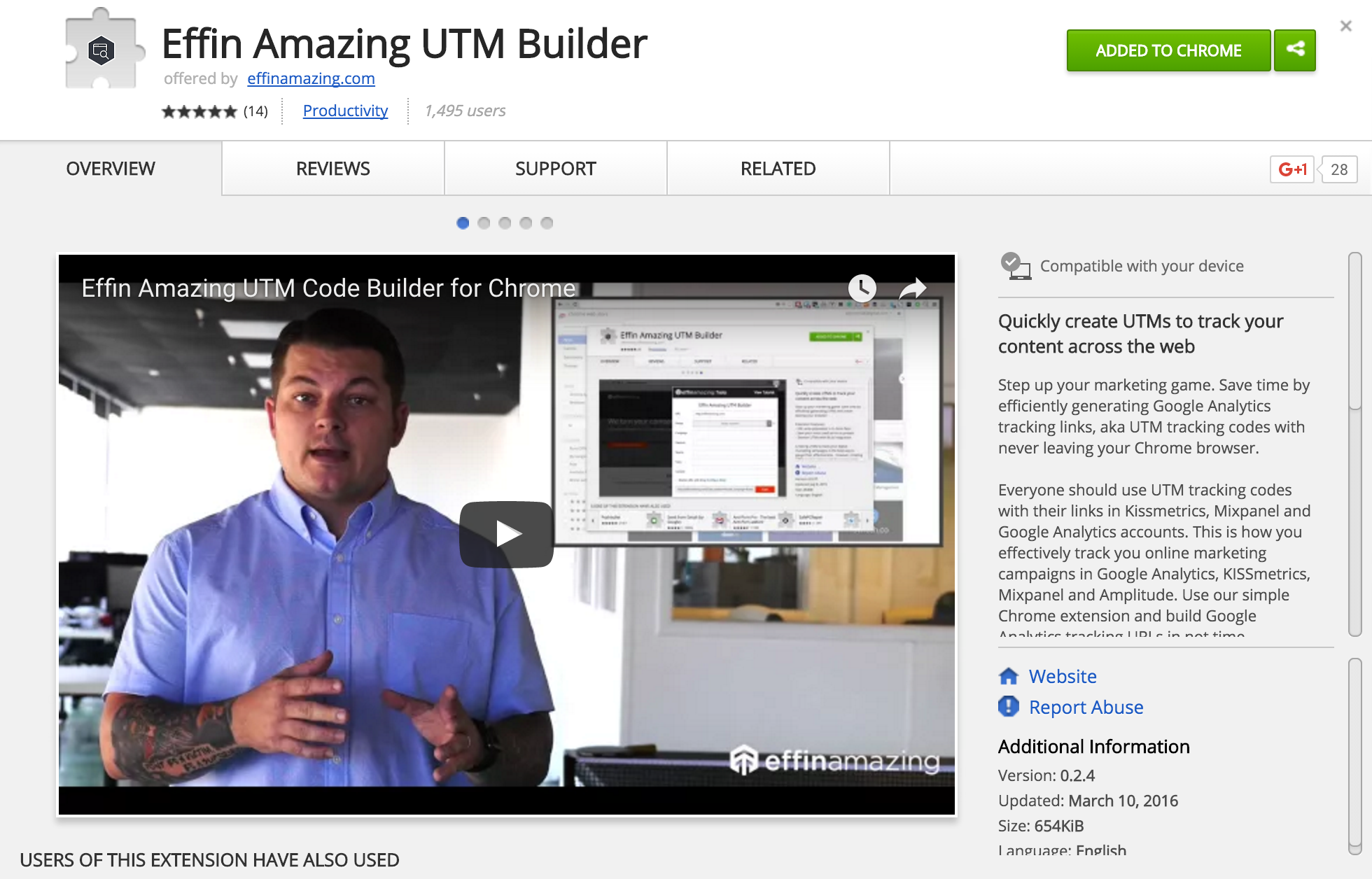 Just Launched: Effin Amazing UTM Tool, Introducing Google Sheets Integration for Team Collaboration