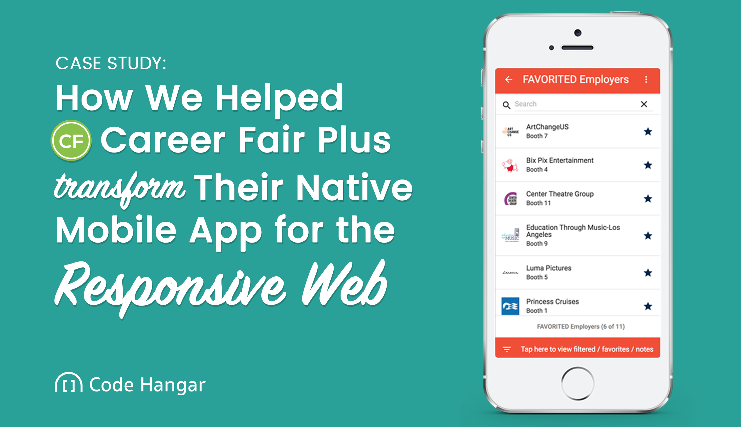 How We Helped Career Fair Plus Transform Their Native Mobile App for the Responsive Web