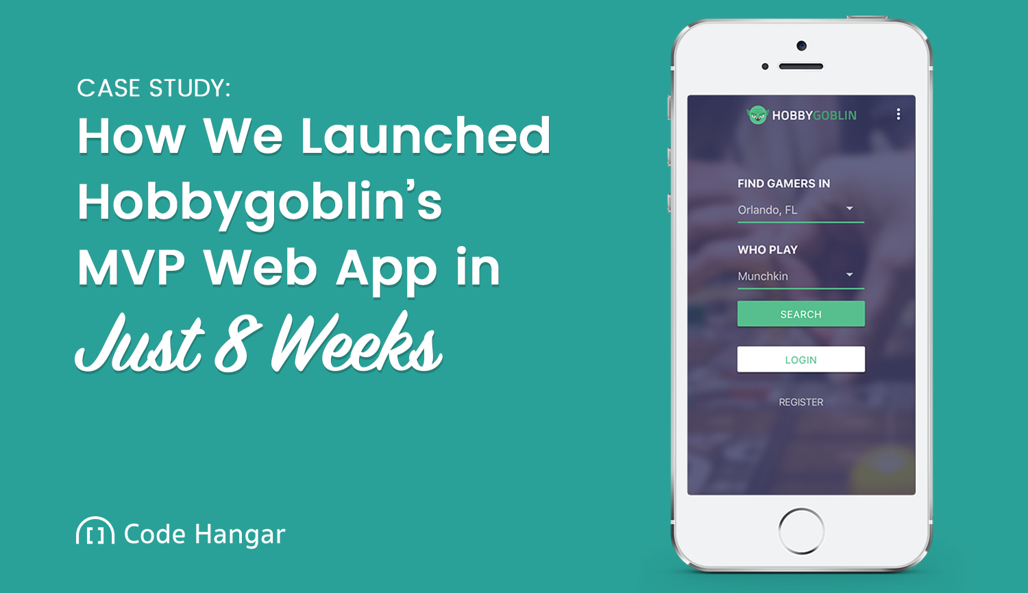 How We Launched Hobbygoblin's MVP Web App in Just Eight Weeks