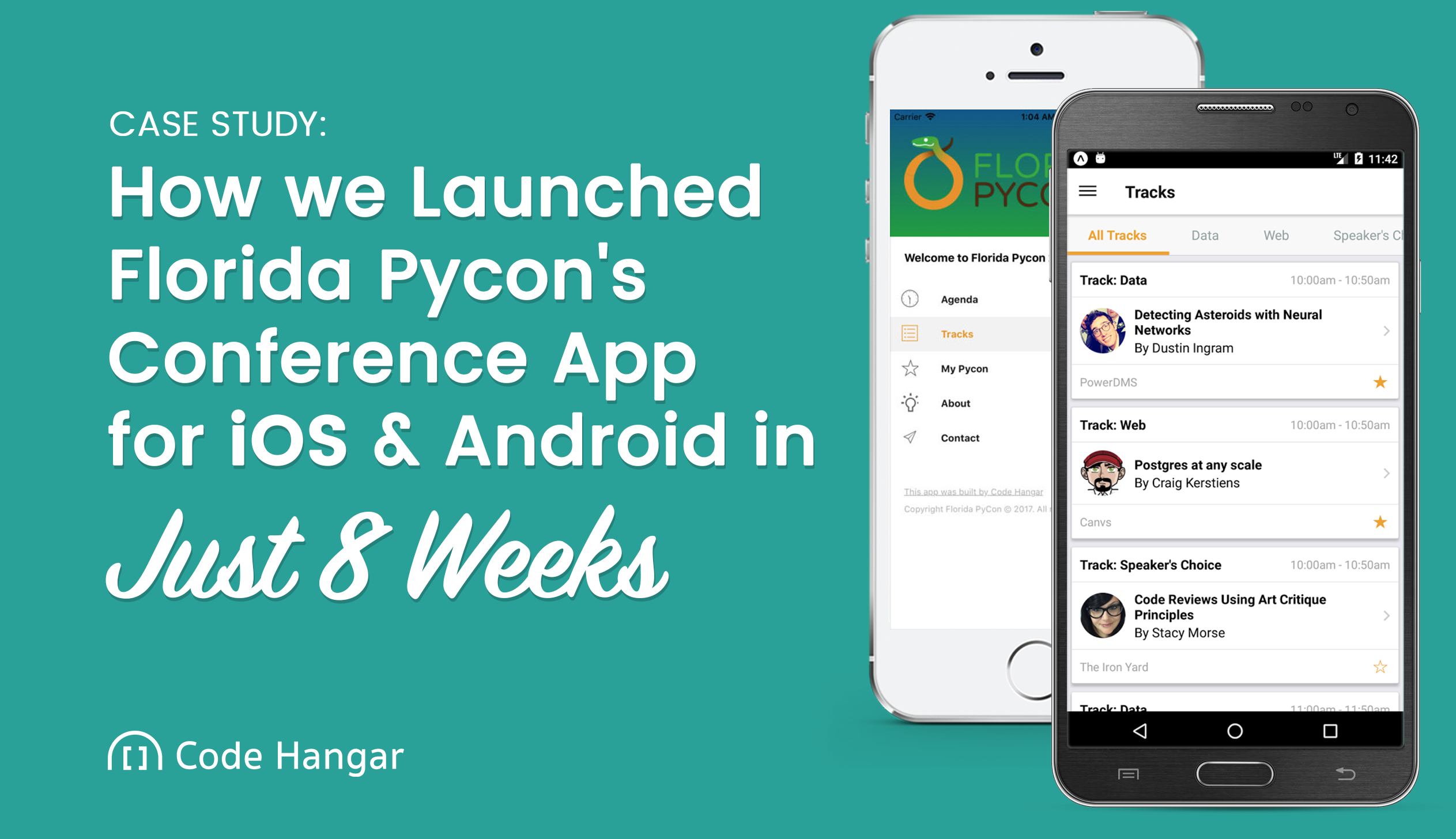 How we Launched Florida Pycon's Conference App for iOS and Android in Just 8 Weeks